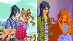 Winx Club Season 7 Flora and Helios the sweetest couple ever