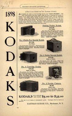 Kodak – 1898 Kodaks (1898)
