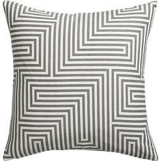 "vibe 18"" pillow | CB2 $24.95"