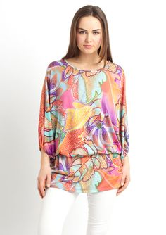 Channel your 70's diva with this UNALUNA Long Sleeve Chelsea Top