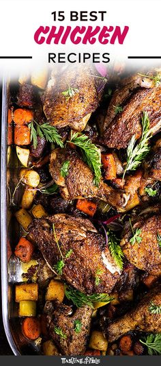 37 quick and fast chicken dinner recipes epicurious best chicken our 15 best chicken recipes of all time forumfinder Choice Image