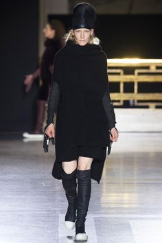 Rick Owens Women's FW 2014Not as much of a blowout...