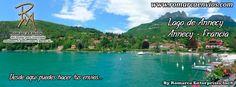 El lago de Annecy (en francés: lac d'Annecy)? es un lago de Alta Saboya, al este de Francia. Es famoso por ser uno de los lagos más limpios del mundo. Además es el segundo lago más grande de Francia. Se formó hace 18 000 años, durante el deshielo de los grandes glaciares alpinos. Es un lugar turístico muy atractivo, conocido por sus actividades náuticas.