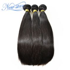 hot sale Guangzhou new star hair Brazilian virgin hair straight 3 pieces/lot human hair extensions high quality  weaves #clothing,#shoes,#jewelry,#women,#men,#hats,#watches,#belts,#fashion,#style