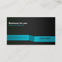 Minimum elegant decay visiting card businesscard Decay, Arthur Smith, Business Cards, Elegant, Creative Business, Things To Come, Blue, Prints, How To Make