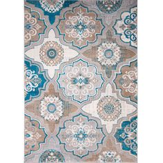 found it at wayfair zella bluebrown area rug