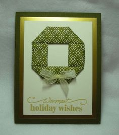 Inkerbel's Inklings: Quilted Washi Paper Cards