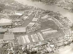 Surrey Commercial Docks, 1926