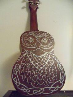 Image result for owl ukulele
