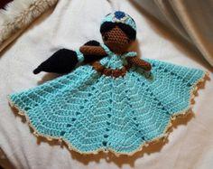 PATTERN Crochet Baby Sea Otter Lovey Security by AMKCrochet