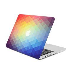 "UNIK CASE-Frosted Coating Rubberized Hard Case for Macbook Pro 13/""-Green"