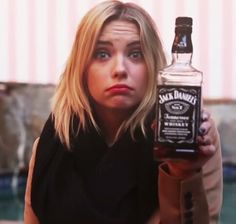 Ashley Benson, Jack Daniels, Pretty Little Liars, Whisky, Whiskey Bottle, Handsome, Hot, Pretty Litte Liars, Whiskey