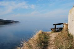 https://flic.kr/p/PbVeu3 | Saline di Portorose con vista sul mare | Panchina nelle saline di Portorose in Slovenia. Tratto da www.vacanze-slovenia.com/slovenia-terme-portorose.html