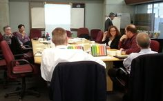 Feedback Frames in boardroom meeting