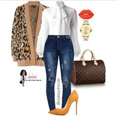 Ni'Cole inspired look. Classy Outfits, Chic Outfits, Fall Outfits, Fashion Outfits, Womens Fashion, Fashion Trends, Work Fashion, Fashion Looks, Looks Style