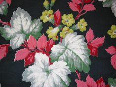Vintage floral. Great color palette