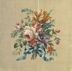 Two Aubusson design for chair backs
