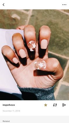 star nails clear star nails with light pink nails Related posts:TODAYS LOOK Best Acrylic Nails, Summer Acrylic Nails, Acrylic Nail Designs, Star Nail Designs, Simple Acrylic Nails, Clear Acrylic, Trendy Nails, Cute Nails, My Nails