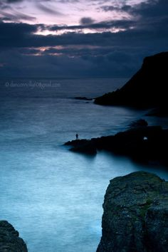 Photo by Dan Connolly - Lonely fisherman Dunmore East Co. Waterford