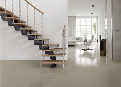 GENIUS 040 Open staircase by Fontanot Spa