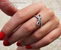 Bow Diamond Ring $888