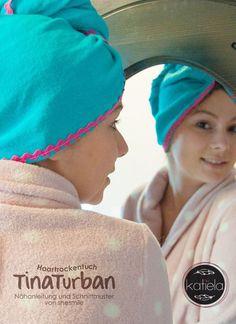Haartrockentuch - Tina Turban (Eine Nähanleitung samt Schnittmuster von shesmile)