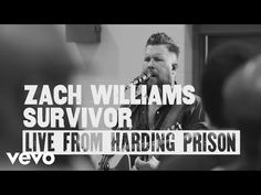 GRAMMY® Award-winning artist Zach Williams has released a special EP, titledSurvivor: Live From Harding Prison. The six-song project was recorded live earlier this summer from the Nashville-based Harding Prison. Christian Music Artists, Christian Songs, Survivor Live, You Give Me Something, Show Me The Way, Bing Video, Lost Soul, Praise And Worship, Words To Describe