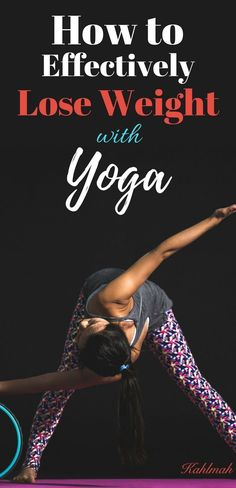 Yoga for weight loss #weightloss