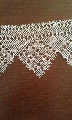 Crochet Edging Patterns, Lace Patterns, Knitting Patterns, Needle Tatting, Needle Lace, Point Lace, Lace Doilies, Lace Making, Knitting Socks