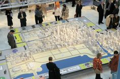 The Chicago Model is the only accurate and up-to-date three-dimensional portrait of Chicago's downtown.  This 320-square-foot work-in-progress enables you to see chicago as you've never seen it before.
