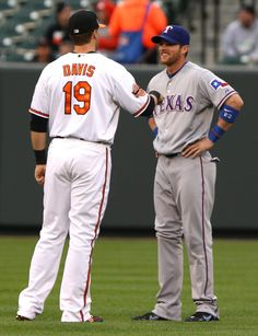Chris Davis and Craig Gentry