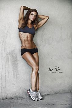 I want to lose weight and be stronger, but in no way do I want to have abs like this. My stomach should never be as ripped or more ripped than my husbands. Ever. .Get more motivated at http://www.fitbys.com Sports and Gymwear