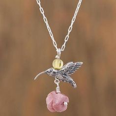 Family Decor Cardinal Bird Pendant Necklace Cabochon Glass Vintage Bronze Chain Necklace Jewelry Handmade