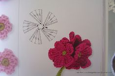 Flower pattern. Cool flowers, but the pattern drawing is just as cool!