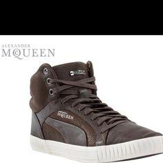 Alexander McQueen Pumas?! So dope!!!