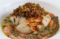 Cod with Lentils Recipe - Great British Chefs