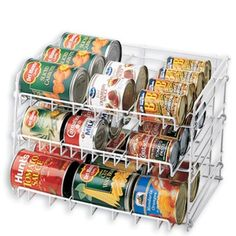 Put the force of gravity to work in your kitchen with our Can Rack. | $14.99