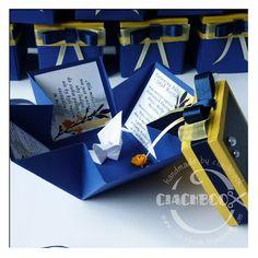 wedding invitations, origami, paper crane by Ciachbook