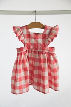 Image of Gingham Pinafore