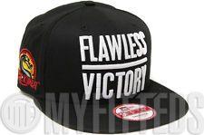 Mortal Kombat AKA Flawless Victory Black White Side Patch New Era Snapback Hat