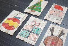 Jour 3 - Puzzle avec des bâtonnets - Le Carnet d'Emma  Activité manuelle DIY Noël Christmas  Activité à réaliser avec les enfants