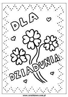 """Kolorowanki i laurki na Dzień Babci i Dzień Dziadka ~ """"URWISKOWO"""" Arabic Calligraphy, Arabic Calligraphy Art"""