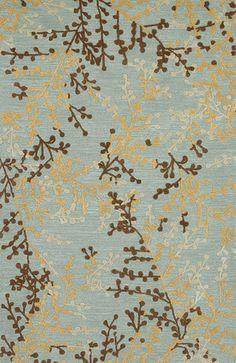 Karastan Plum Blossom Area Rug by MeggethPixel, via Flickr, living room !