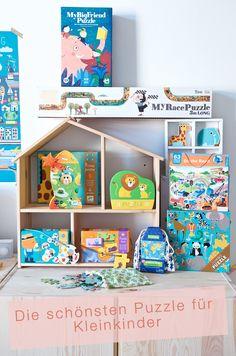Die schönsten Puzzle für Kleinkinder. Mit londji, Djeco und Mudpuppy.
