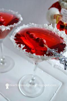 Santa Claus-Mopolitan: A signature holiday drink
