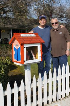 Jim Scott. Bakersfield, CA.   This is another Wendy's Words Library in Bakersfield, paying it forward for Wendy Wayne who lived a life serving others.