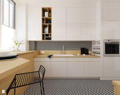 Kuchnia styl Minimalistyczny - zdjęcie od Ale design Grzegorz Grzywacz - Kuchnia…
