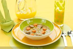 Lentejas con lac�n y verduras