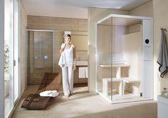 Duravit sauna InipiB bathroom compact design small rough