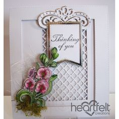 Heartfelt Creations - Pink Orchid Bouquet Project
